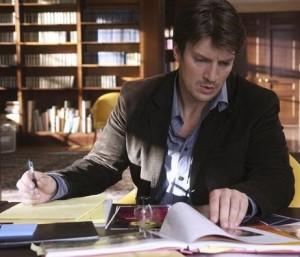 Andrew Marlowe as Rick Castle in Castle.
