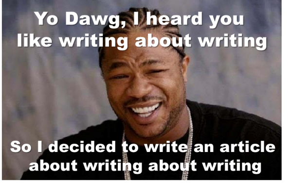 yo dawg writing