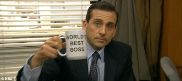 michael scott worlds best boss