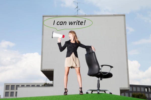 advertise your own writing services