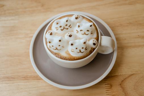 latte art trend