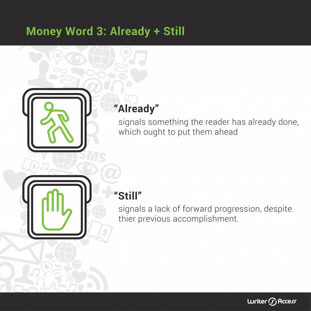 Money word number 3 for content creation in marketing