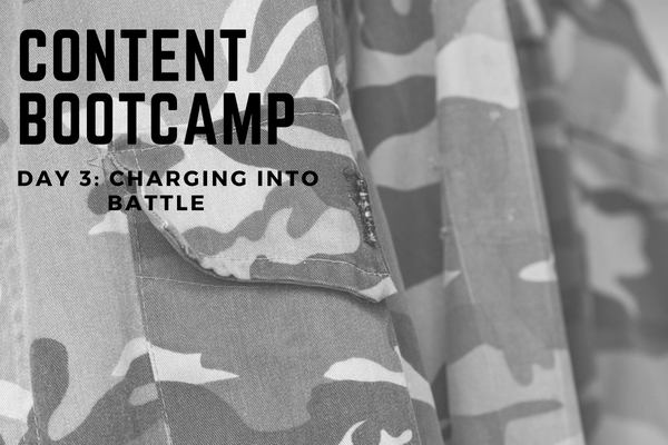 CONTENT BOOTCAMP 3