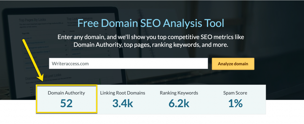 How to find domain authority for free